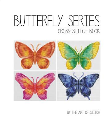 click here to view larger image of Butterfly Series (4 Designs) (book)