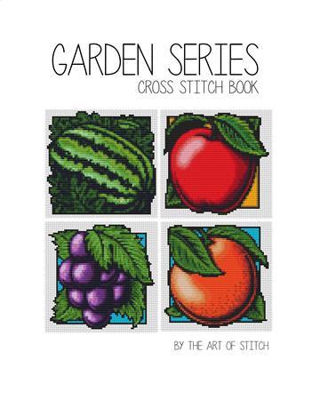 click here to view larger image of Garden Series (4 Designs) (book)