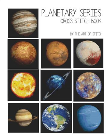 click here to view larger image of Planetary Series (10 Designs) (book)
