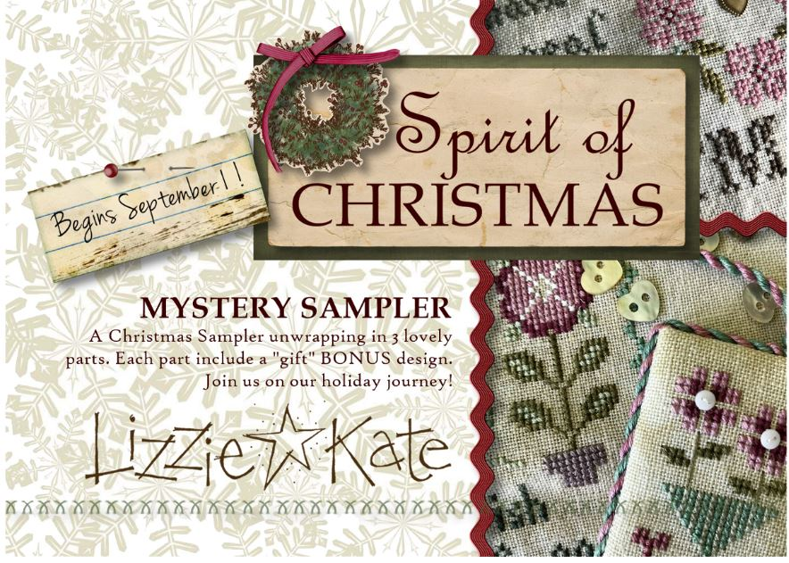 click here to view larger image of Spirit Of Christmas Mystery Sampler - Sign UP (chart)