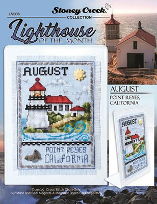 click here to view larger image of Lighthouse Of The Month - August (chart)