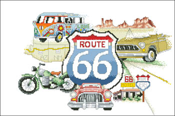 click here to view larger image of Route 66 (chart)