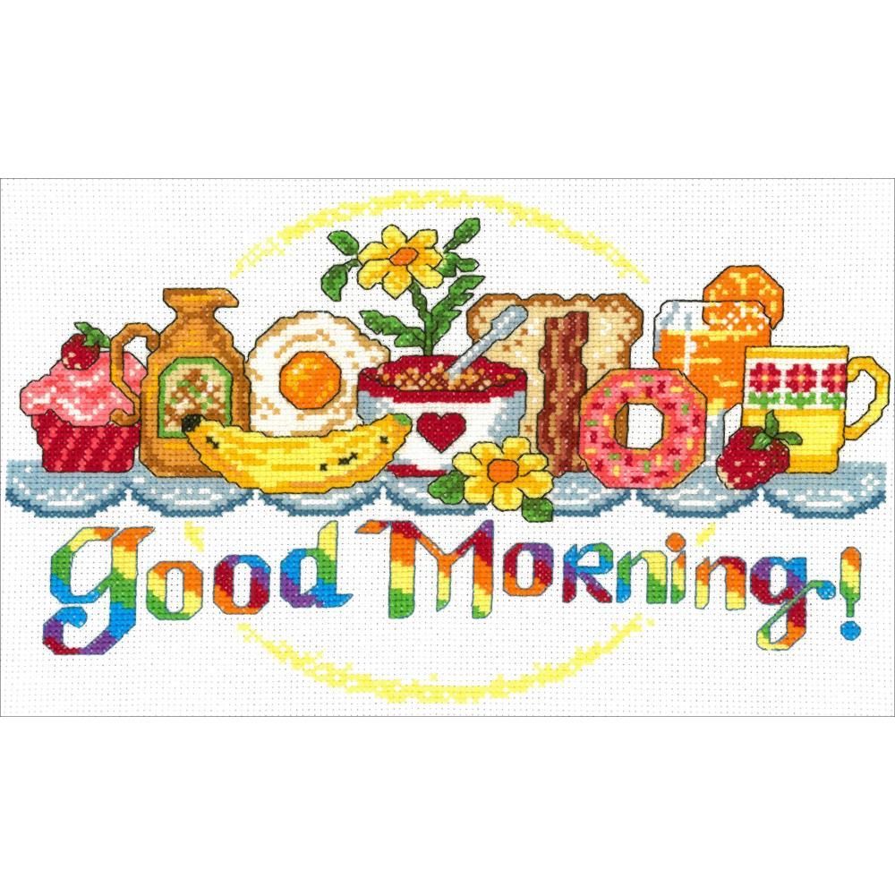 click here to view larger image of Good Morning Breakfast (Kit) (counted cross stitch kit)