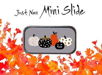 click here to view larger image of Pumpkin Party Mini Slide (accessory)
