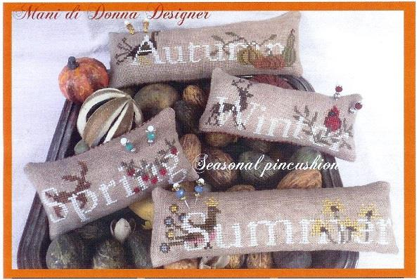 click here to view larger image of Seasonal Pincushion (chart)
