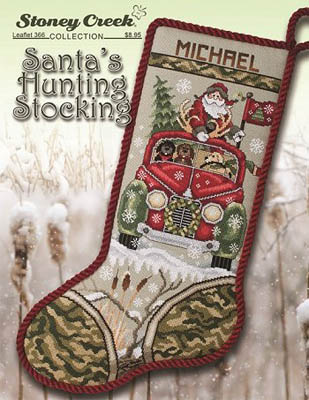 click here to view larger image of Santas Hunting Stocking (chart)