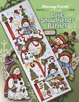 click here to view larger image of Love Snowfriends Banner (chart)