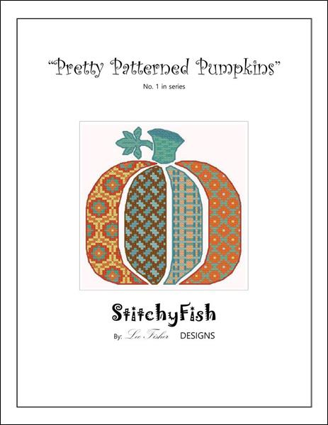 click here to view larger image of Pretty Patterned Pumpkins 1 (chart)