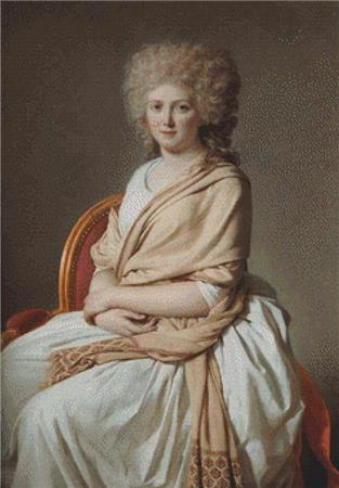 click here to view larger image of Portrait Of Anne Marie Louise Thelusson (chart)