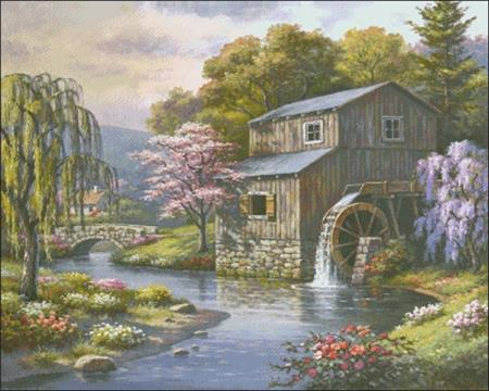 click here to view larger image of Spring At The Mill (chart)