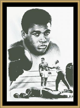 click here to view larger image of Muhammad Ali - The Greatest (chart)