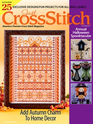click here to view larger image of Just Cross Stitch - September/October 2017 (magazines)