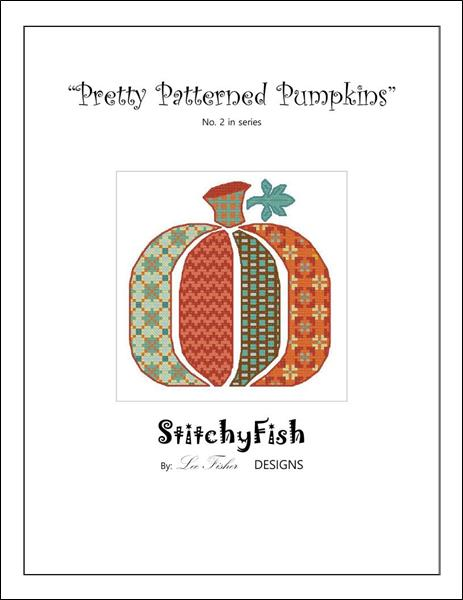 click here to view larger image of Pretty Patterned Pumpkins 2 (chart)