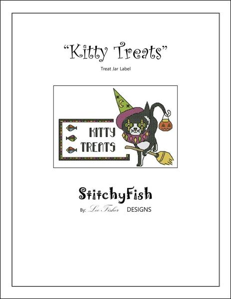 click here to view larger image of Kitty Treats Label (chart)