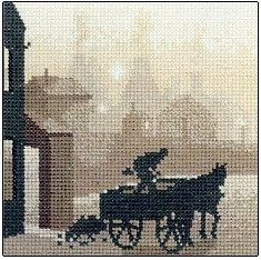 click here to view larger image of Coalman, The (Kit) (counted cross stitch kit)