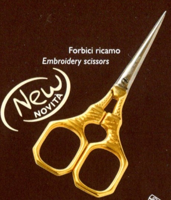 click here to view larger image of Premax 4in 24ct Gold Plated Handle Scissors (accessory)