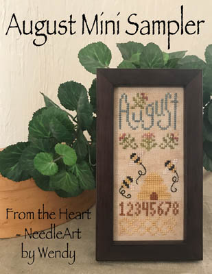 click here to view larger image of August Mini Sampler (chart)