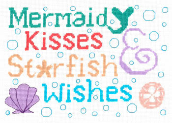 click here to view larger image of Mermaid Kisses (Chart) (chart)