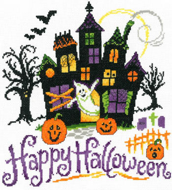 click here to view larger image of Haunted Halloween House (chart)