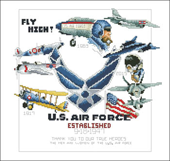 click here to view larger image of Air Force (chart)