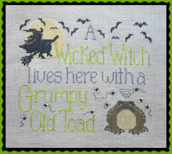 click here to view larger image of Wicked Witch and Grumpy Toad (chart)