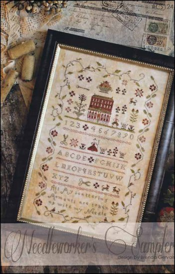 click here to view larger image of Needleworkers Sampler (chart)