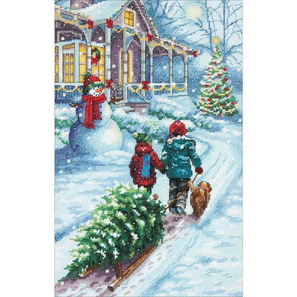 click here to view larger image of Christmas Tradition (counted cross stitch kit)