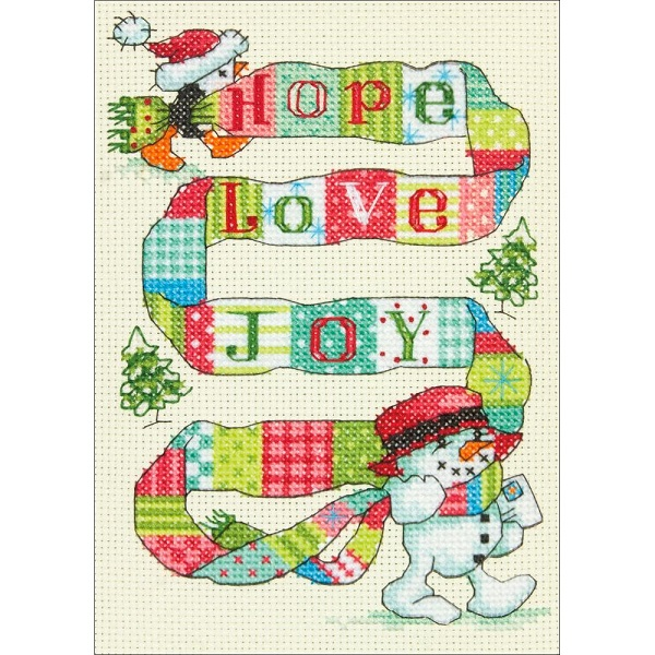 click here to view larger image of Spread The Joy (counted cross stitch kit)