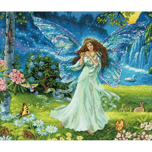 click here to view larger image of Spring Fairy (counted cross stitch kit)