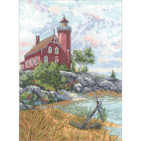 click here to view larger image of Eagle Harbor Light (counted cross stitch kit)