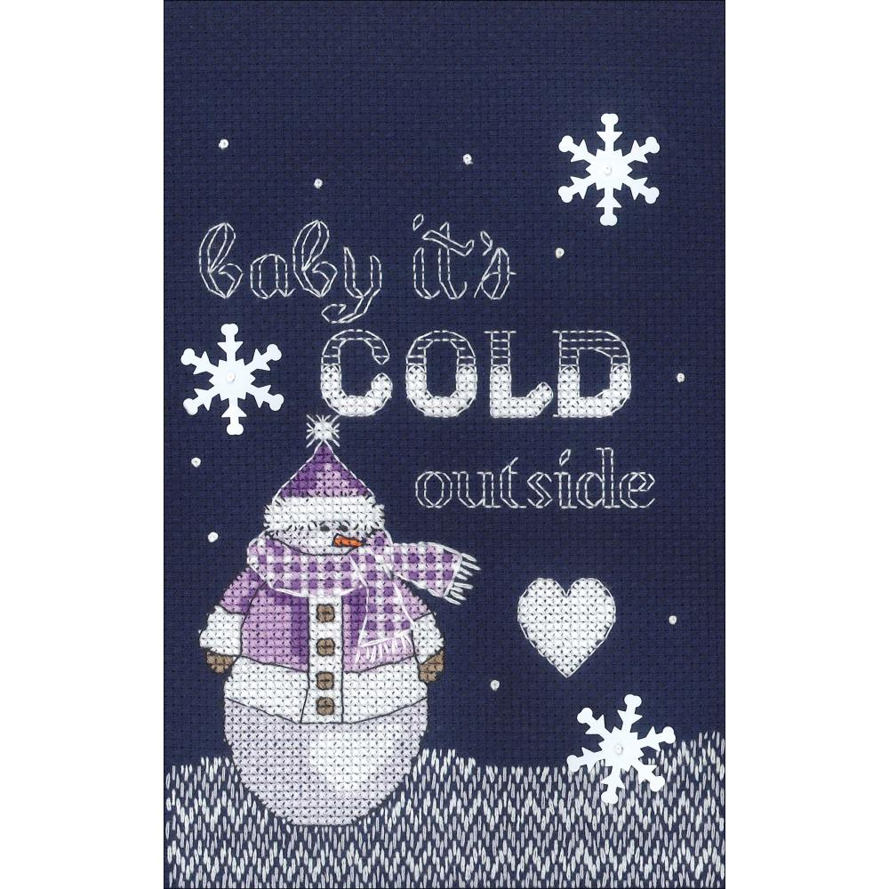 click here to view larger image of Cold Outside (counted cross stitch kit)