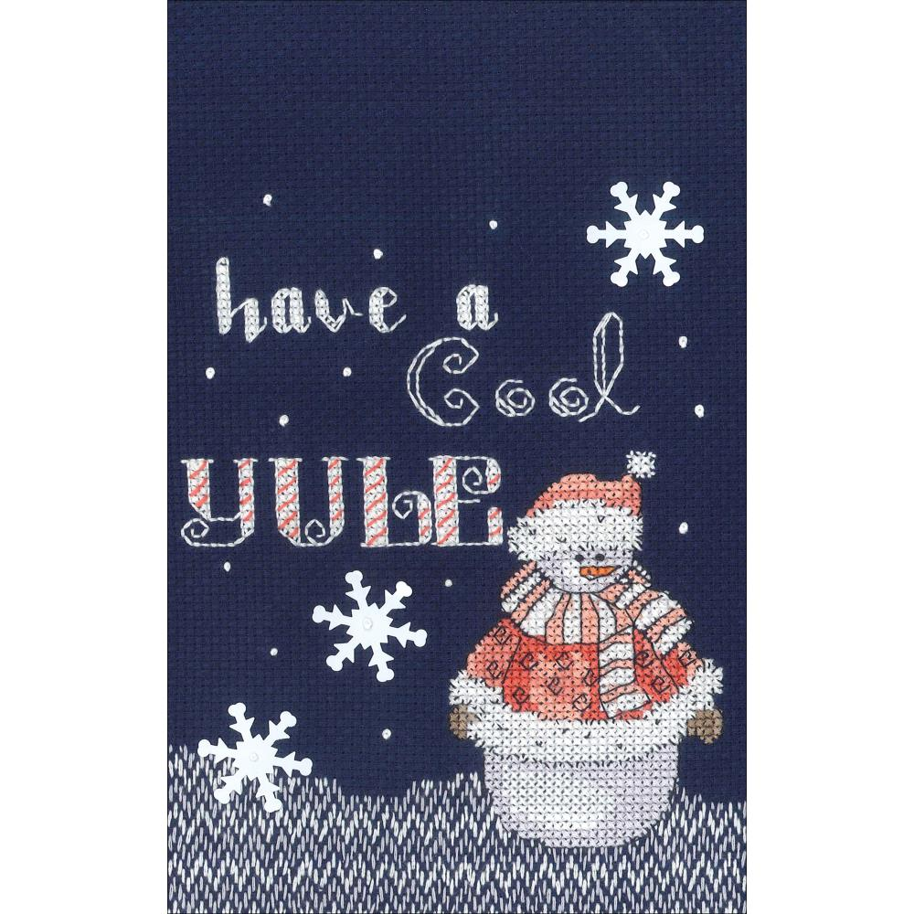 click here to view larger image of Cool Yule (counted cross stitch kit)