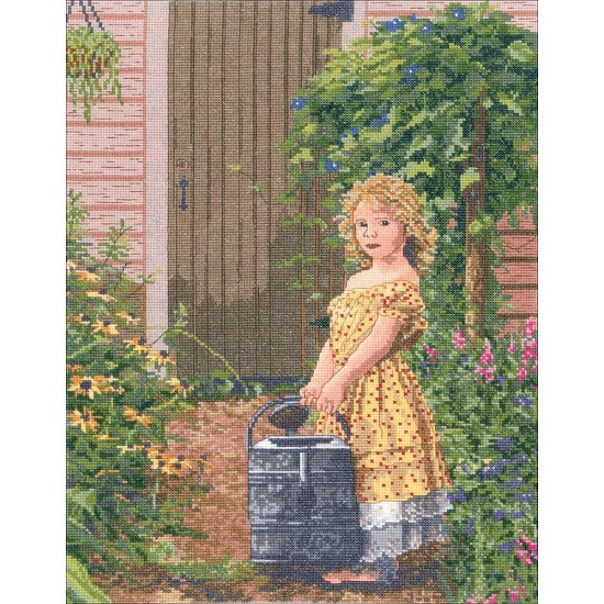 click here to view larger image of Gardeners Daughter, The (counted cross stitch kit)