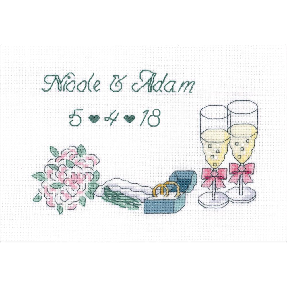click here to view larger image of Wedding Day (counted cross stitch kit)