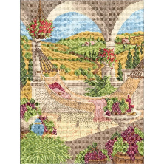 click here to view larger image of Harvest Celebration (counted cross stitch kit)