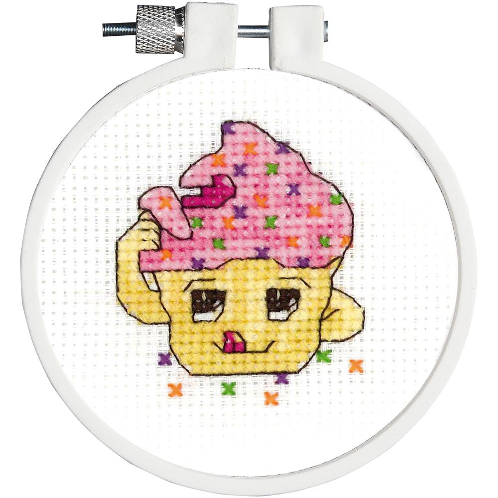 click here to view larger image of Kid Stitch - Taste Tester (counted cross stitch kit)