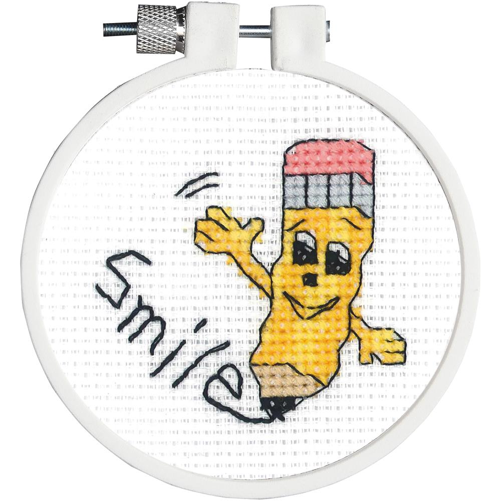 click here to view larger image of Kid Stitch - Smile (counted cross stitch kit)