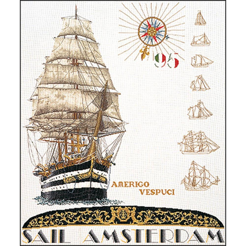 click here to view larger image of Sail 1995 (Aida) (counted cross stitch kit)