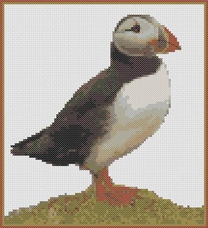 click here to view larger image of Birds Series Puffin (chart)