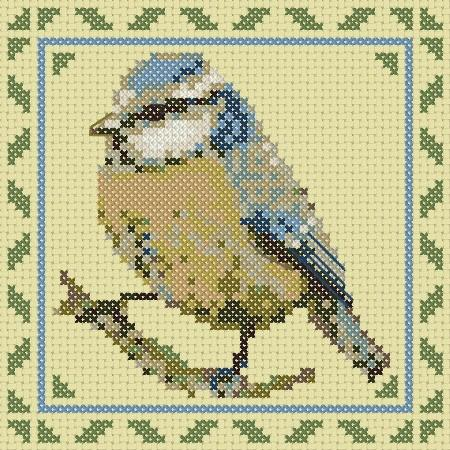 click here to view larger image of Birds Series Bluetit (chart)