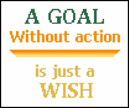 click here to view larger image of Goal Or A Wish, A (chart)