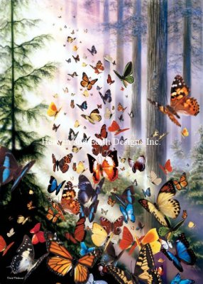 click here to view larger image of Mini Butterfly Woods - Max Color (chart)