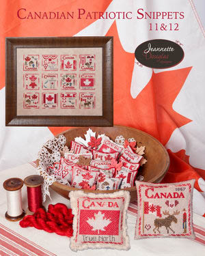 click here to view larger image of Canadian Patriotic Snippets 11 and 12 (chart)
