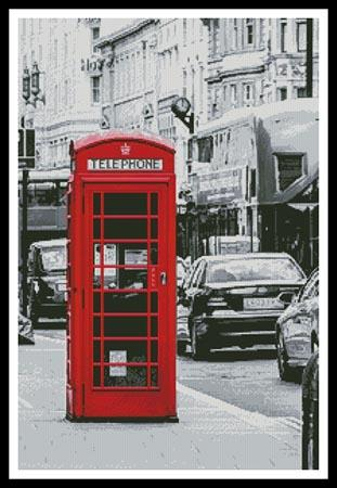 click here to view larger image of London Phone Booth (chart)