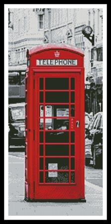 click here to view larger image of London Phone Booth (Cropped) (chart)