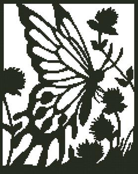 click here to view larger image of Butterfly Silhouette 2 (chart)