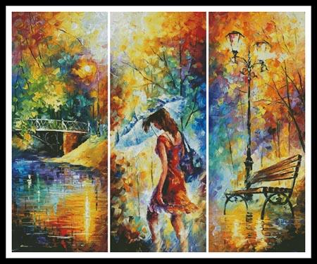 click here to view larger image of Aura Of Autumn (Large)  (Leonid Afremov) (chart)