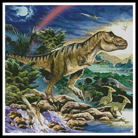 Tyrannosaur (Crop) - click here for more details about chart