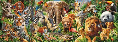 click here to view larger image of Animal Mix Panorama (chart)