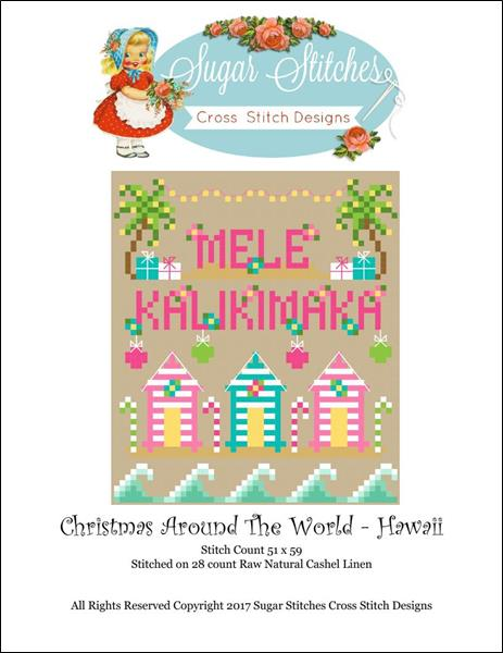 click here to view larger image of Christmas Around The World - Hawaii (chart)